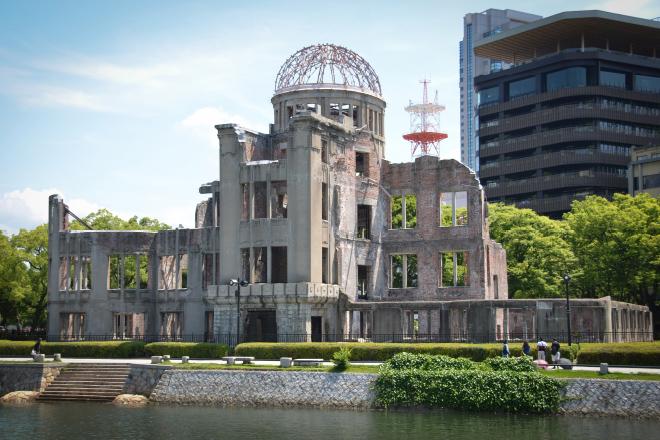 平和記念公園(原爆ドーム)
